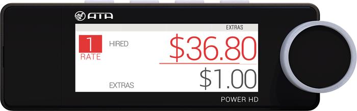 POWER HD taximeter - ATA ELECTRONICS - Taxi - Taximeters
