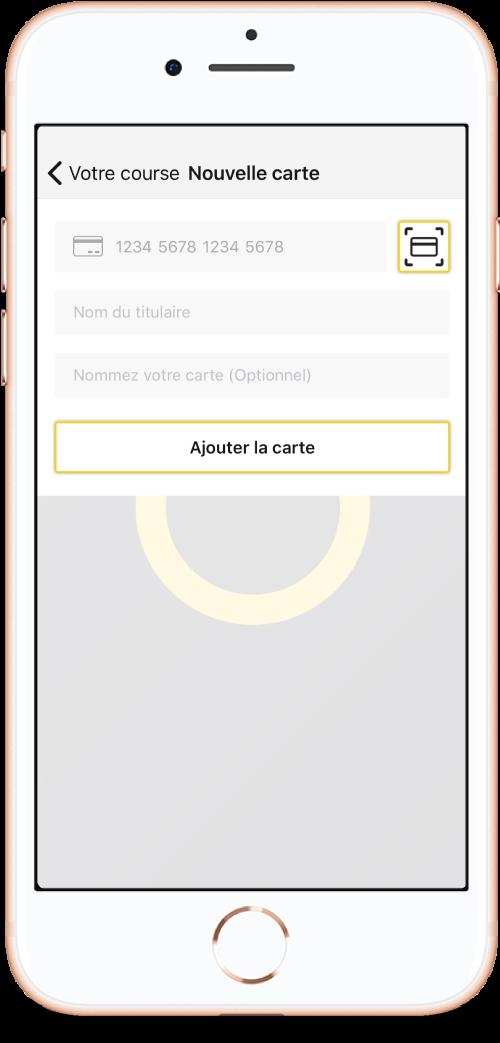 Application 1001TAXIS - Choisissez votre moyen de paiement !